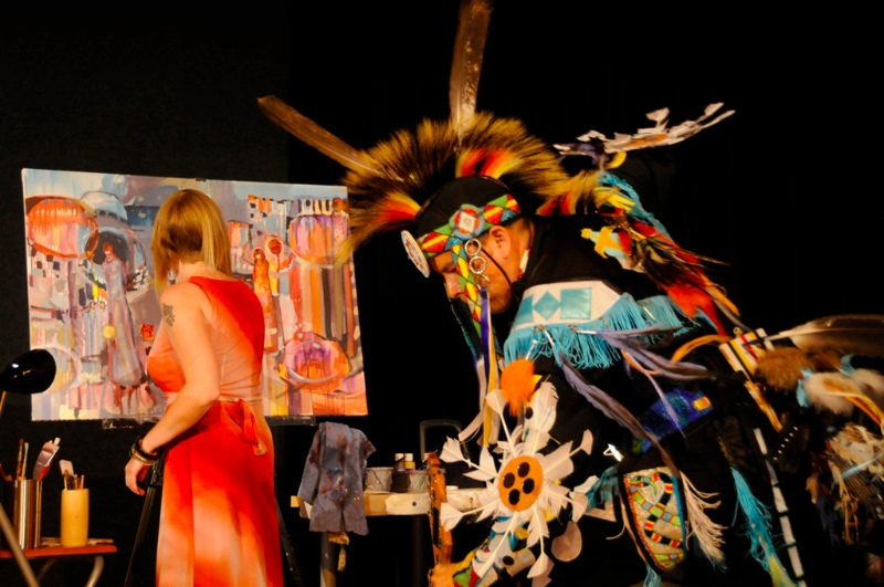Tribe of One, 2010, Lebovic Centre for Arts & Entertainment