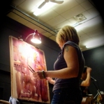 live painting NWT