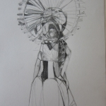 Ferris Wheel Woman