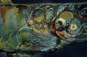 Salmon, Tina Newlove, The Salmon Run Project, AGM