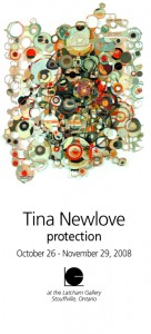 Tina Newlove, PROTECTION 2008, the Latcham Gallery